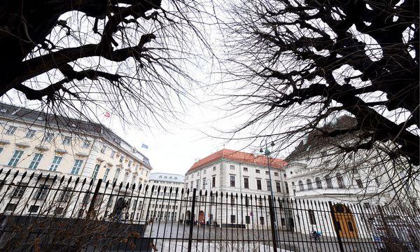 Der Ballhausplatz in der Inneren Stadt – wo Bundeskanzleramt und Präsidentschaftskanzlei angesiedelt sind – wird umgestaltet. / Bild: (c) Clemens Fabry