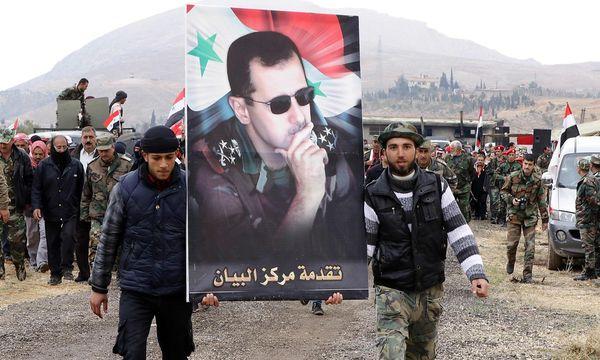 Soldaten der syrischen Armee. / Bild: APA/AFP/LOUAI BESHARA