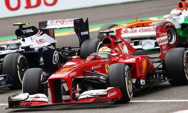 Formel-1-Autos / Bild: (c) GEPA pictures (GEPA pictures/ XPB Images)