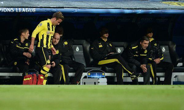 Fussball Dortmunds Goetze mehrere / Bild: (c) GEPA pictures (GEPA pictures/ Witters)