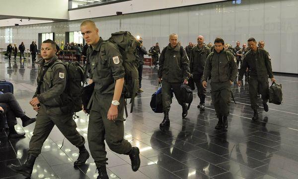 Bundesheersoldaten / Bild: (c) APA HERBERT NEUBAUER (HERBERT NEUBAUER)
