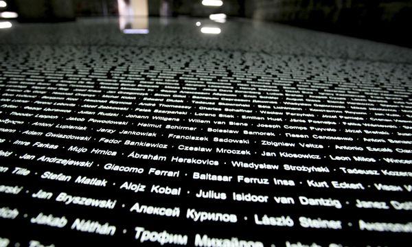 Gedenkstätte: Raum der Namen in Mauthausen / Bild: (c) APA/RUBRA (RUBRA)