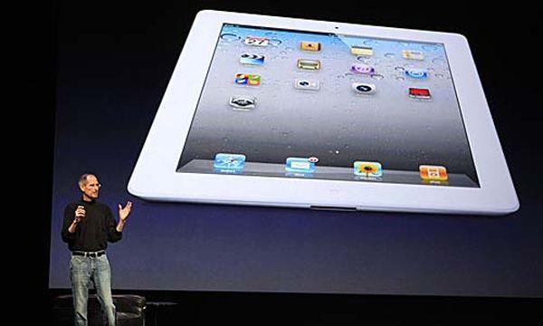 Steve Jobs präsentiert das iPad 2 / Bild: (c) REUTERS (BECK DIEFENBACH)