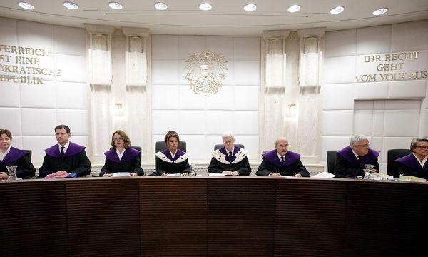 Der Verfassungsgerichtshof könnte im Herbst ein Erkenntnis zur österreichischen Strafprozessordnung veröffentlichen. Dies wiederum könnte voll auf den Buwog-Prozess durchschlagen. / Bild: APA/Georg Hochmuth