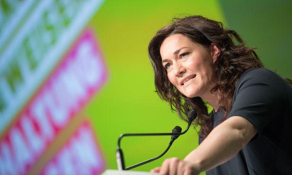 Die neue Grüne-Bundessprecherin Ingrid Felipe / Bild: APA/FOTOKERSCHI.AT/KERSCHBAUMMAYR