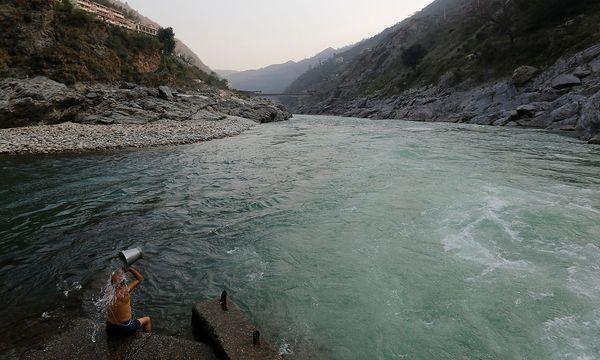 Die Gebiete rund um Ganges und Indus wären besonders betroffen. / Bild: REUTERS