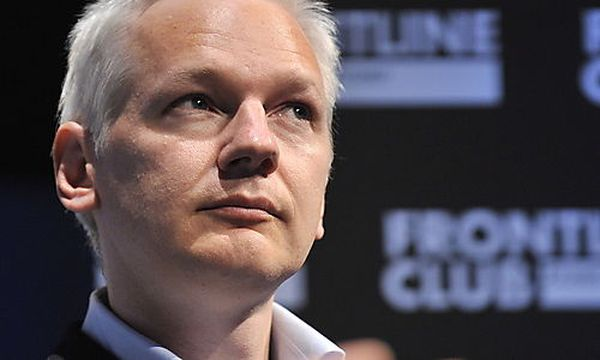 Julian Assange / Bild: (c) EPA (Andy Rain)