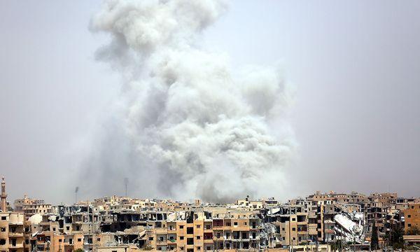 Der Islamische Staat ist von der Vereinbarung ausgenommen. / Bild: APA/AFP/DELIL SOULEIMAN