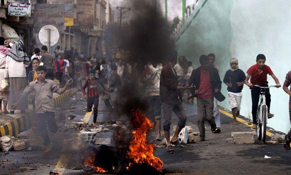 Bild: (c) AP (Hani Mohammed)