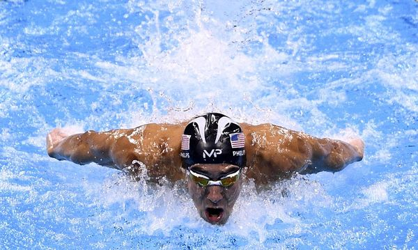 Michael Phelps / Bild: APA/AFP/MARTIN BUREAU