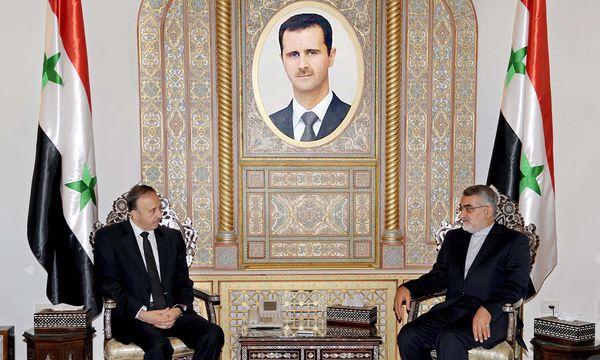 Irans Eliteeinheiten fuer Assad / Bild: (c) EPA (SANA HANDOUT)