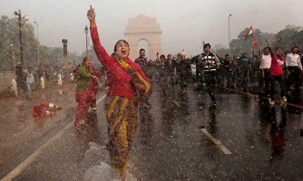 Indien: Massive Proteste nach Gruppenvergewaltigung / Bild: Reuters (Kevin Frayer)