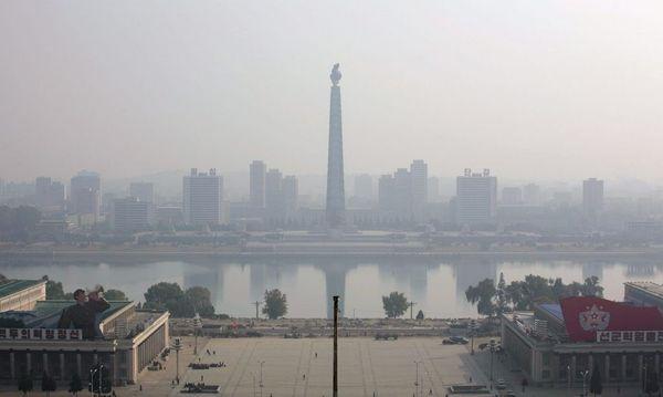 NORTH KOREA JUCHE TOWER / Bild: EPA