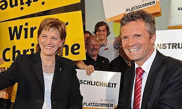 Christine Oppitz-Plörer und Christoph Platzgummer  / Bild: (c) APA/ROBERT PARIGGER (Robert Parigger)