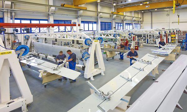 Die oberösterreichische FACC produziert für alle großen Flugzeughersteller.  / Bild: (c) APA/FACC AG