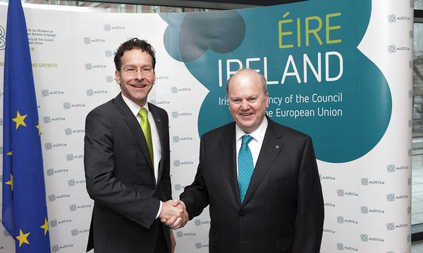 Ecofin / Bild: (c) EPA (GOVERNMENT OF IRELAND / HANDOUT)