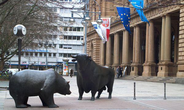 Börse Frankfurt am Main, Bulle und Baer / Bild: (c) Bilderbox