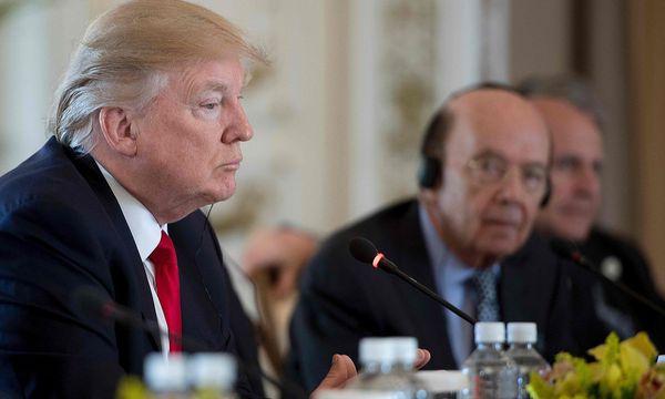 Der chinesische Staatsbesuch in den USA wird von Donald Trumps Entscheidung für ein Bombardement in Syrien überschattet. / Bild: (c) APA/AFP/JIM WATSON (JIM WATSON)