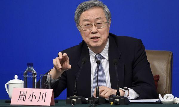 Notenbank-Chef Zhou Xiaochuan / Bild: APA/AFP/WANG ZHAO