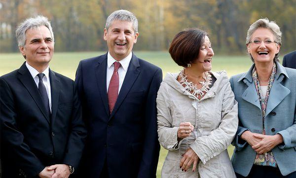 Faymann, Spindelegger, Mikl-Leitner, Schmied / Bild: (c) Reuters