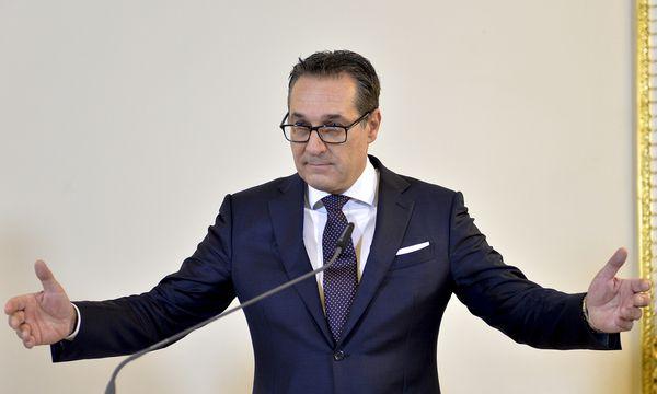 Vizekanzler Heinz-Christian Strache (FPÖ). / Bild: (c) APA/HERBERT NEUBAUER