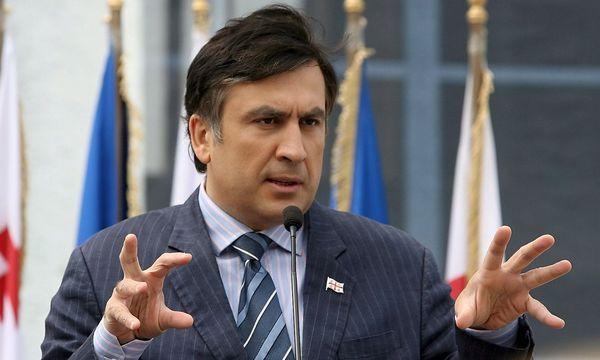 Ex-Präsident und Ex-Gouverneur Saakaschwili  / Bild: (c) EPA (ZURAB KURTSIKIDZE)