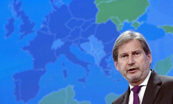 Johannes Hahn fordert eine Neuregelung der Beziehung mit der Türkei. / Bild: REUTERS