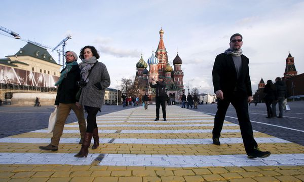 Der Schein der tollen Sehenswürdigkeiten sollte nicht trügen. Wirtschaften in Russland ist eine Herausforderung. / Bild: (c) REUTERS (MAXIM ZMEYEV / Reuters)