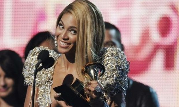 Beyonce wins for best female pop vocal performance at the annual Grammy Awards in Los Angeles