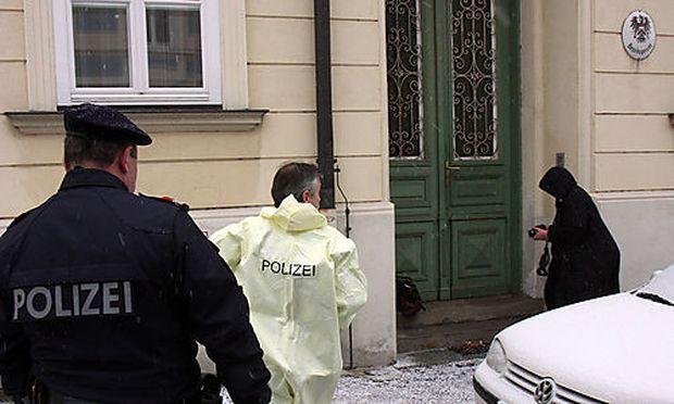 Am Bezirksgericht Hollabrunn ist eine Angestellte erschossen worden