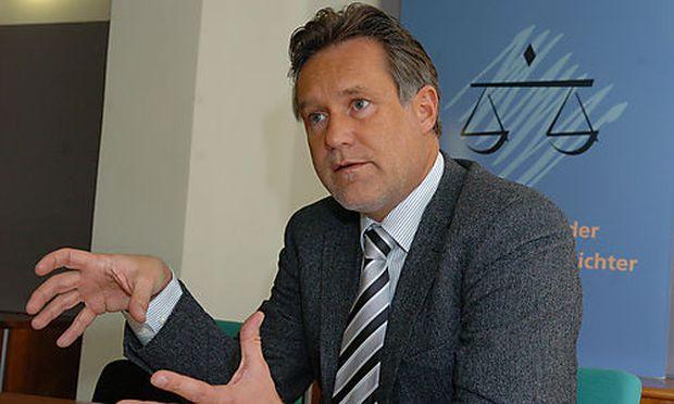 Pr�sident der Richtervereinigung Werner Zinkl  Photo: Michaela Bruckberger