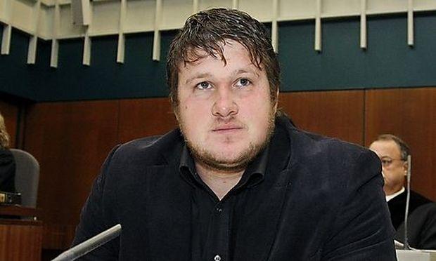Matthias Steiner im Gerichtssaal