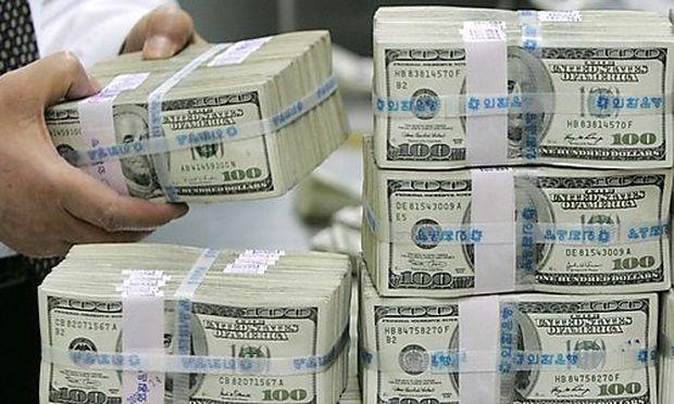 Hundert Dollar-Noten