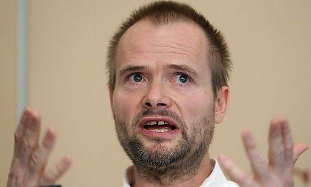 Martin Balluch, einer der Angeklagten