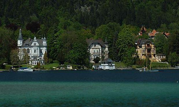 Woerthersee-Architektur historisch und modern