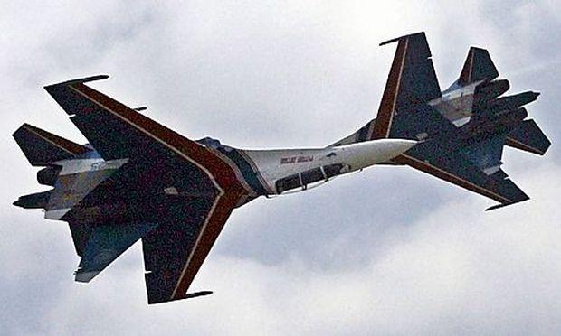 Sukhoi Su-27-Kampfjets auf einem Archivbild aus 2006