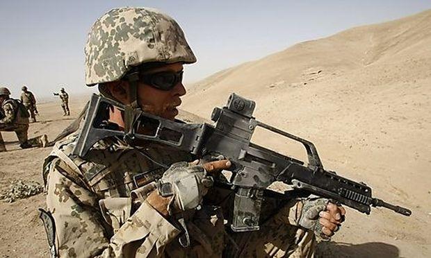 Isaf-Soldat