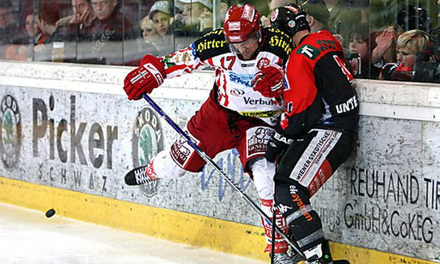 EISHOCKEY - EBEL, Playoff, HCI vs KAC