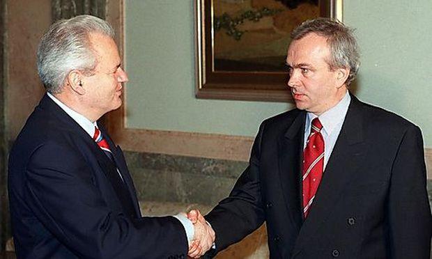 Jovica Stanisic mit Slobodan Milosevic