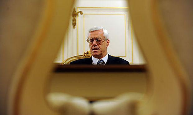Gerhart Holzinger, Pr�sident des Verfassungsgerichtshofes  Foto: Clemens Fabry