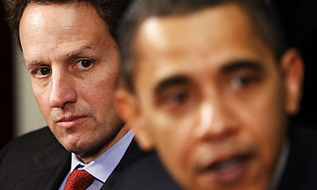 Timothy Geithner, Barack Obama