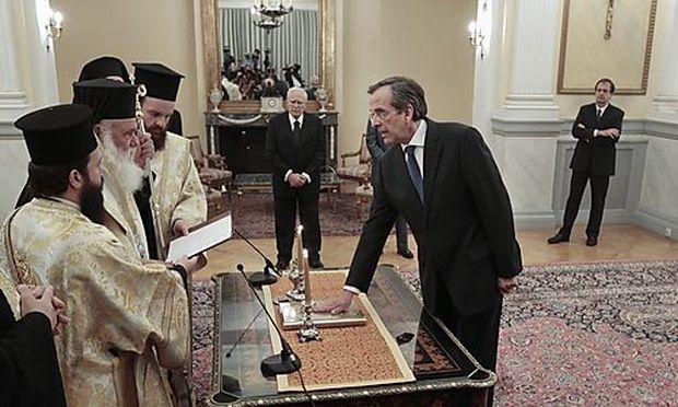 Griechenland: Neue Regierung steht