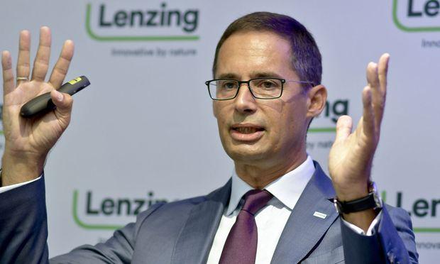 Lenzing-CEO Stefan Doboczky