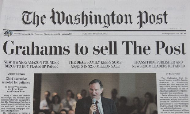 Washington Post Herr Bezos