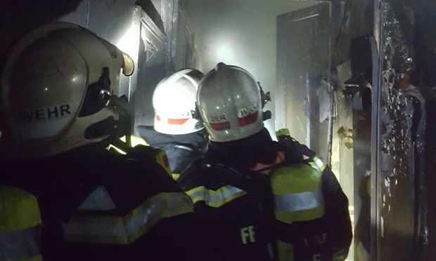 79-jährige Frau starb bei Zimmerbrand in Wien