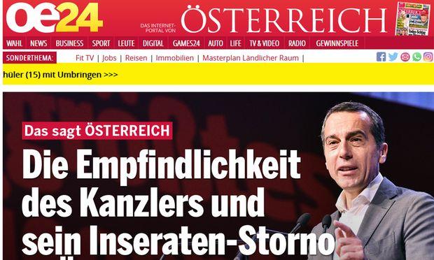 Kanzler Christian Kern boykottiert
