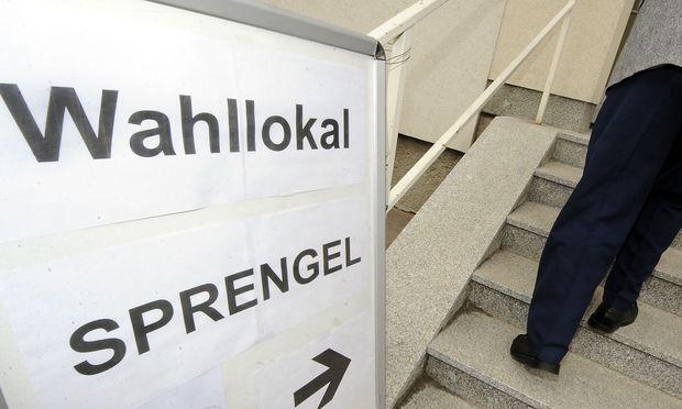 Symbolbild Wahllokal