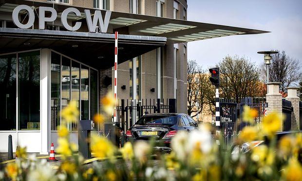Das OPCW-Hauptquartier in Den Haag.