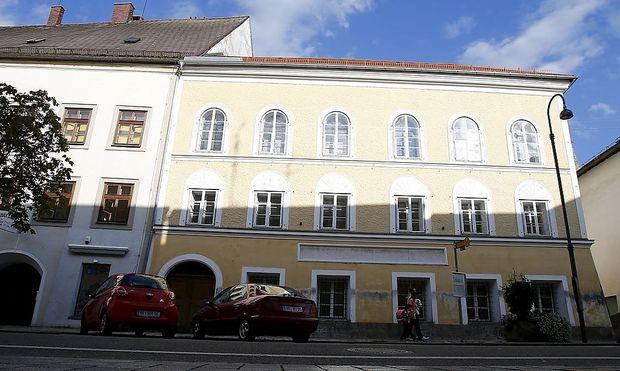 Hitlers Geburtshaus in Braunau.