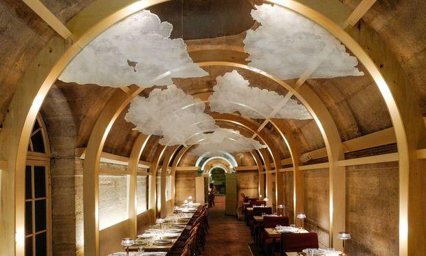 Refettorio Paris: die Krypta der La Madeleine.